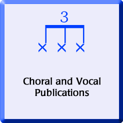 Choral publications badge