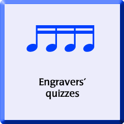 Engravers' quizzes badge
