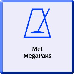 Met Megapaks badge